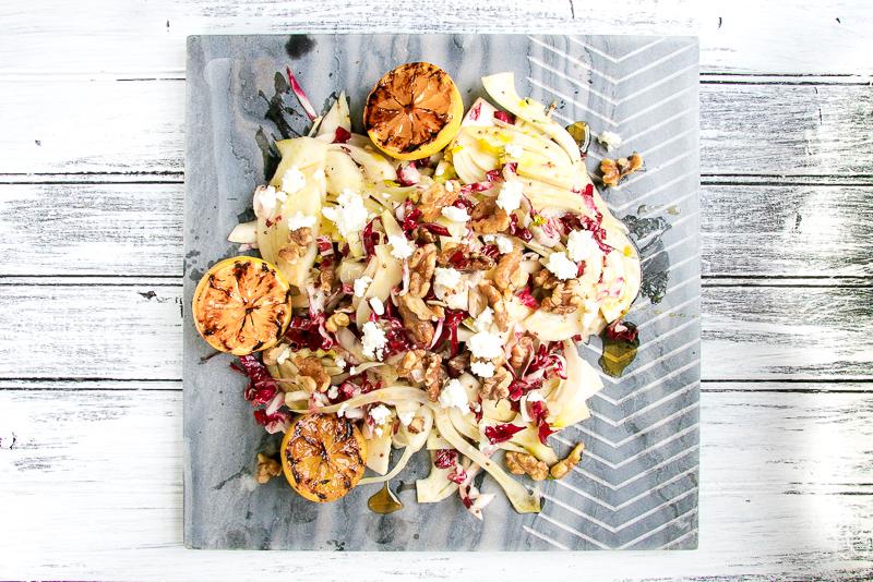 Fennel & Radicchio Salad