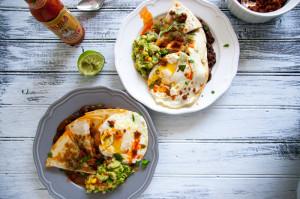 Chorizo Quesadilla Huevos Rancheros | I Will Not Eat Oysters
