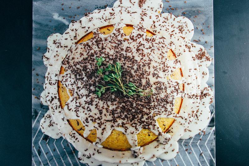 Meyer Lemon Thyme Cakes