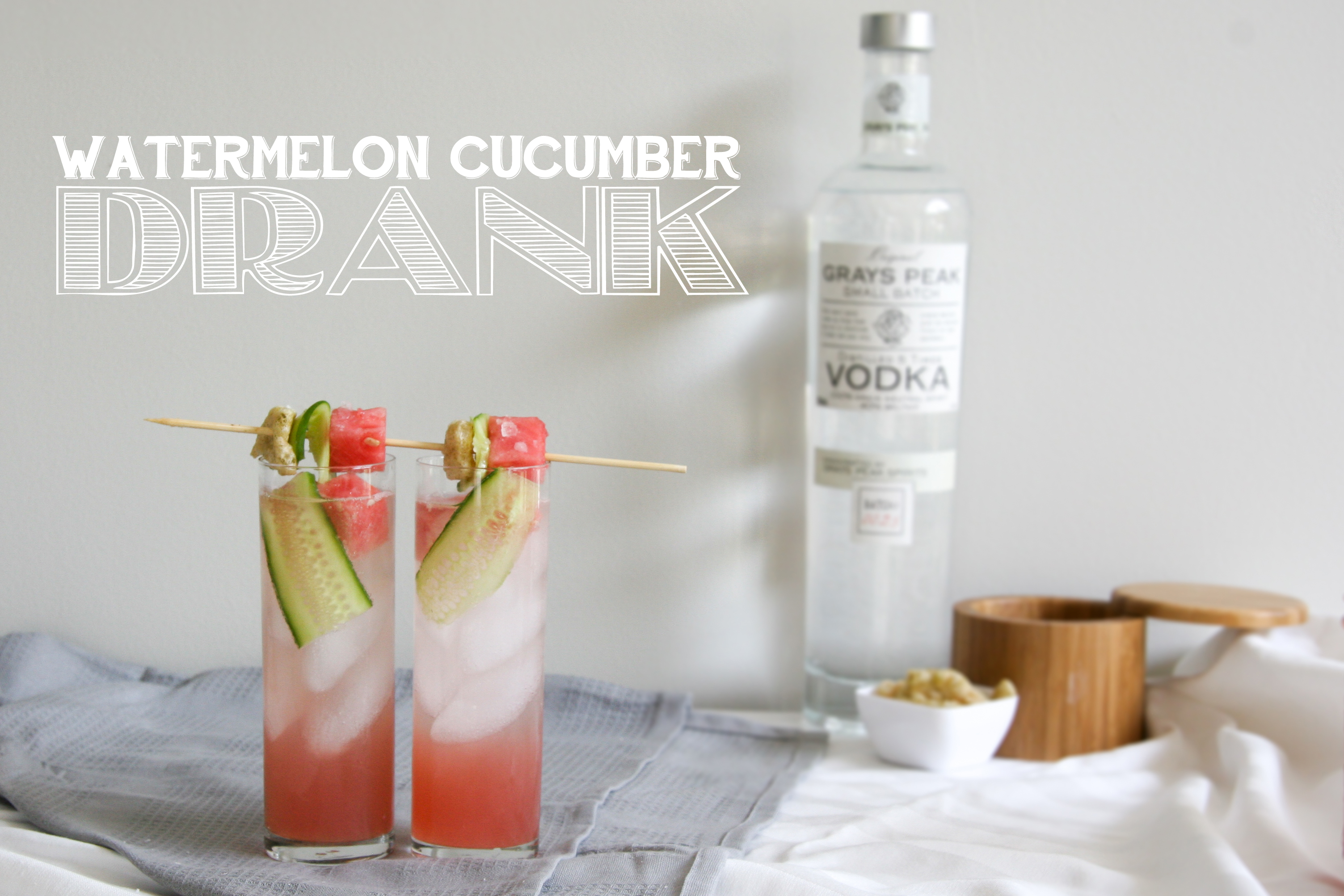 Watermelon Cucumber Drank