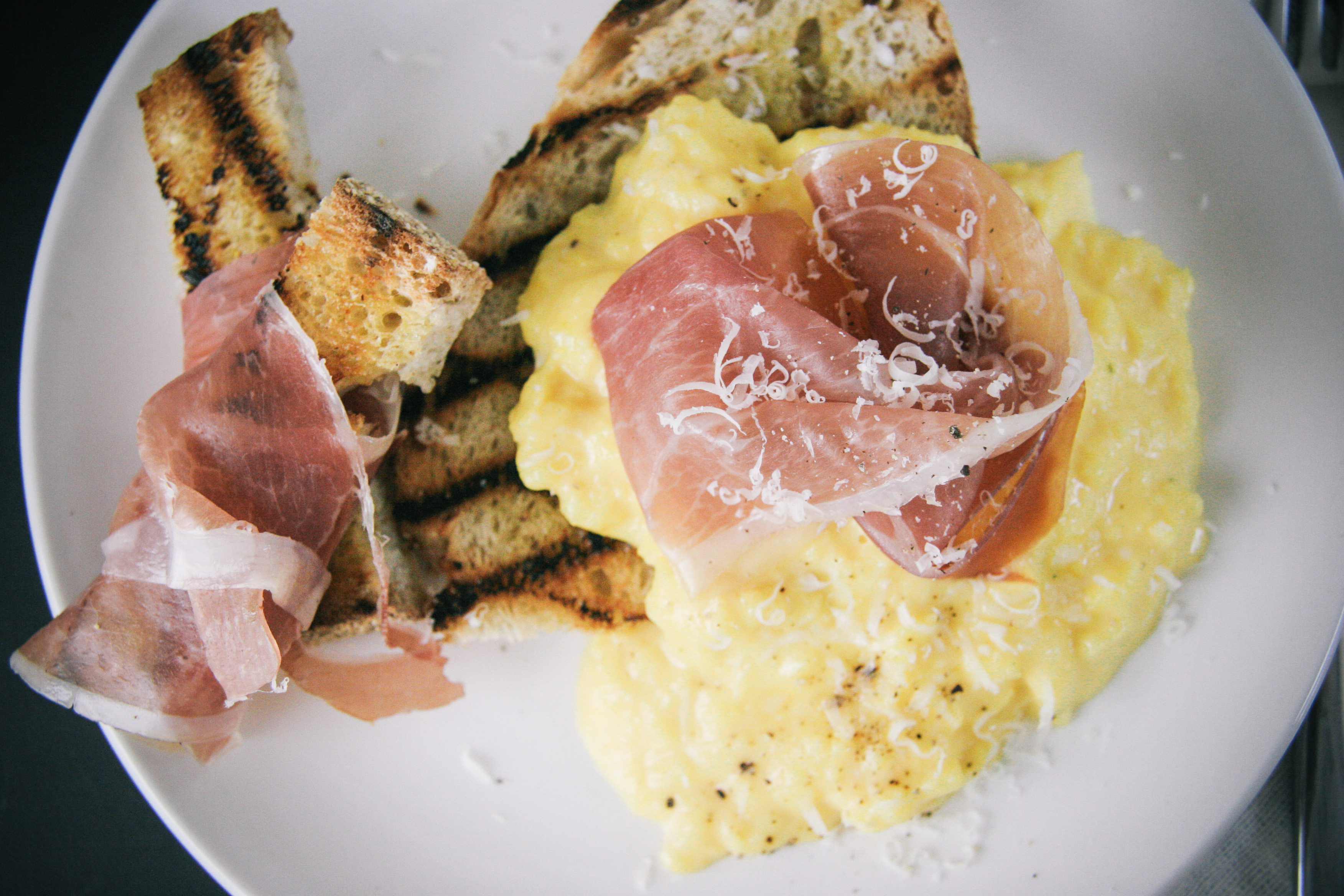 Perfect Boursin Scrambled Eggs | I Will Not Eat Oysters