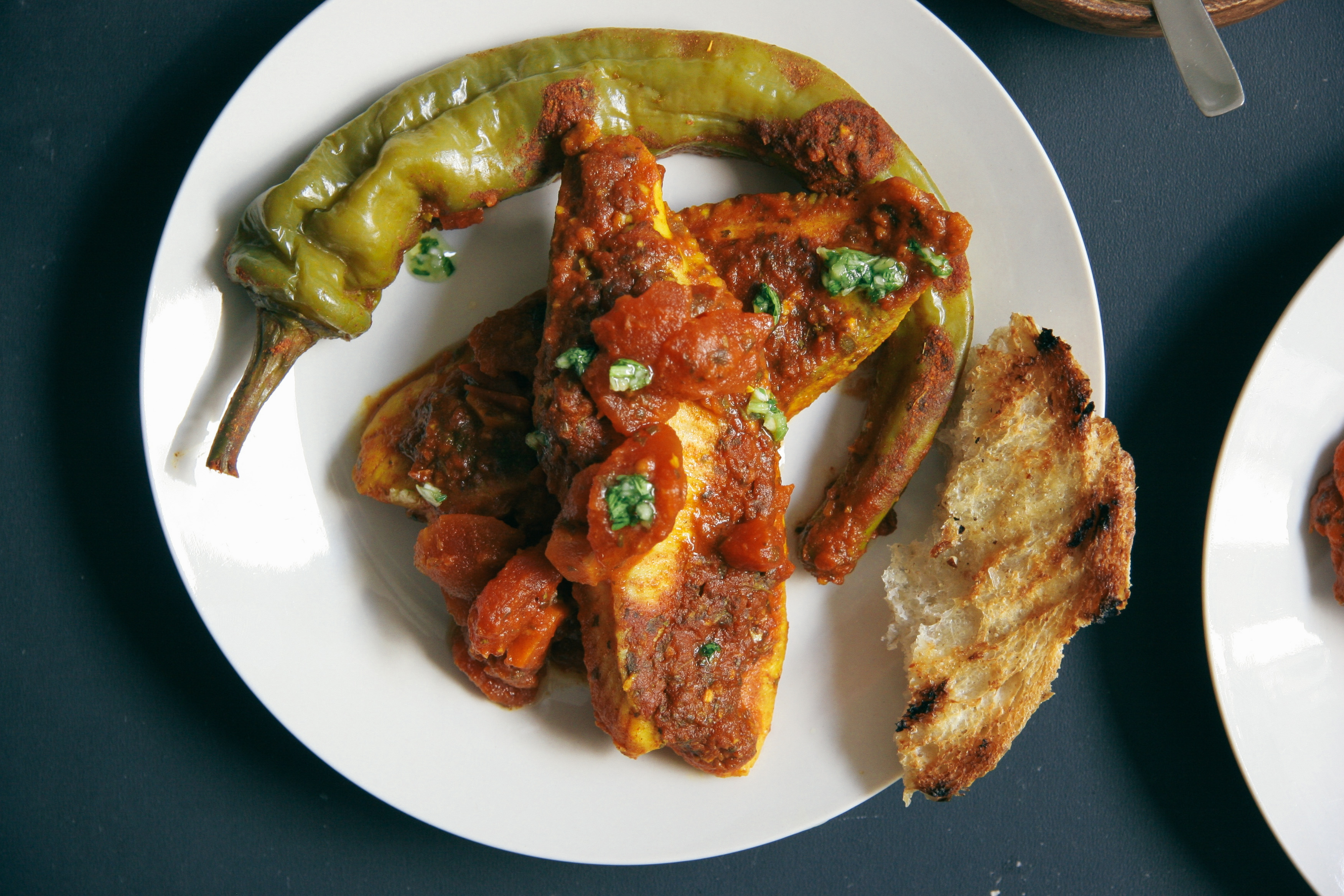 Spicy Moroccan Fish in Tomato Sauce | I Will Not Eat Oysters