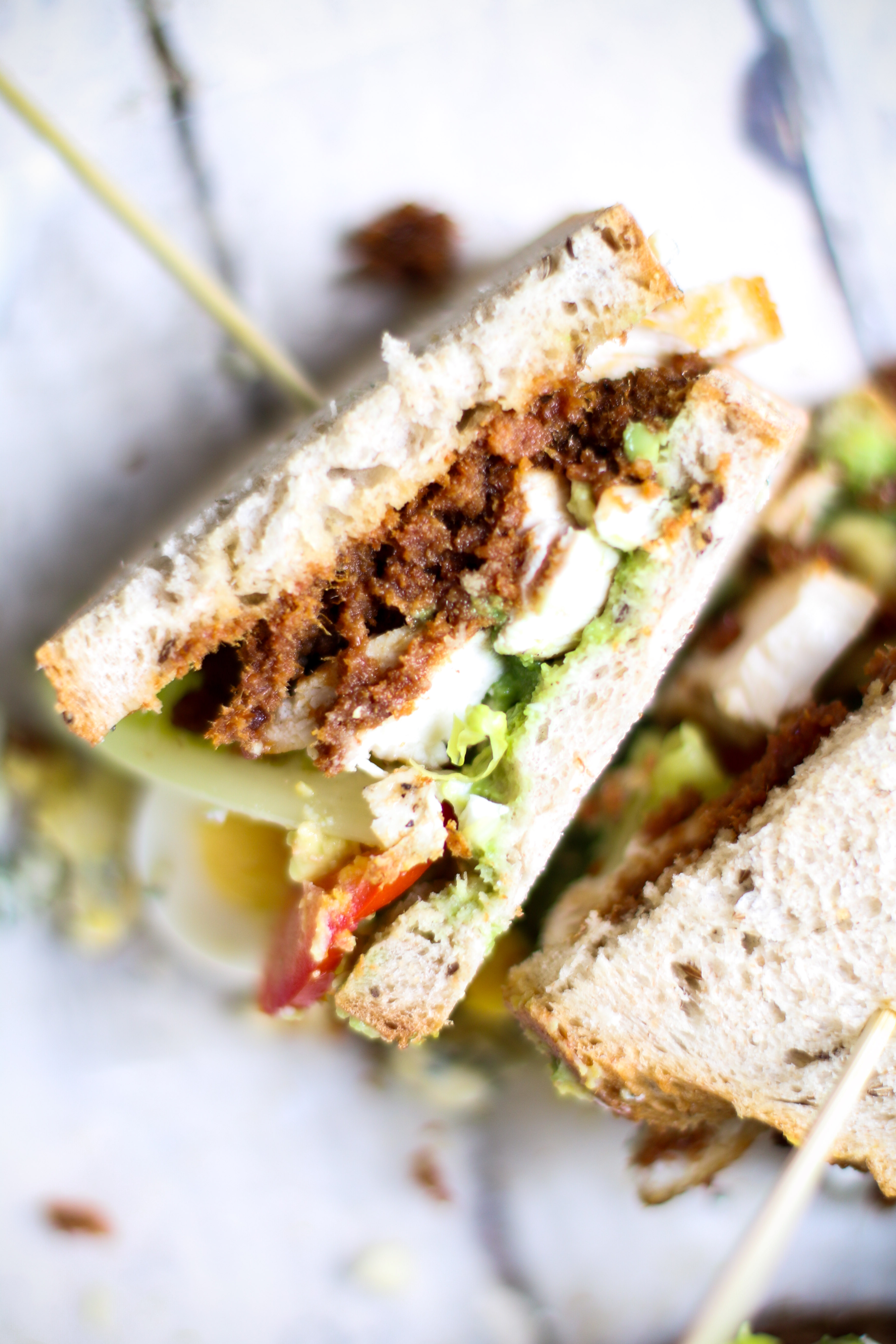 Bacon Jam Cobb Sandwiches | I Will Not Eat Oysters