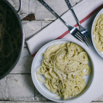 Mom's Cacio e Pepe with Feta Cheese   I Will Not Eat Oysters