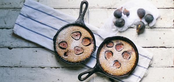 Brown Sugar & Fig Clafoutis