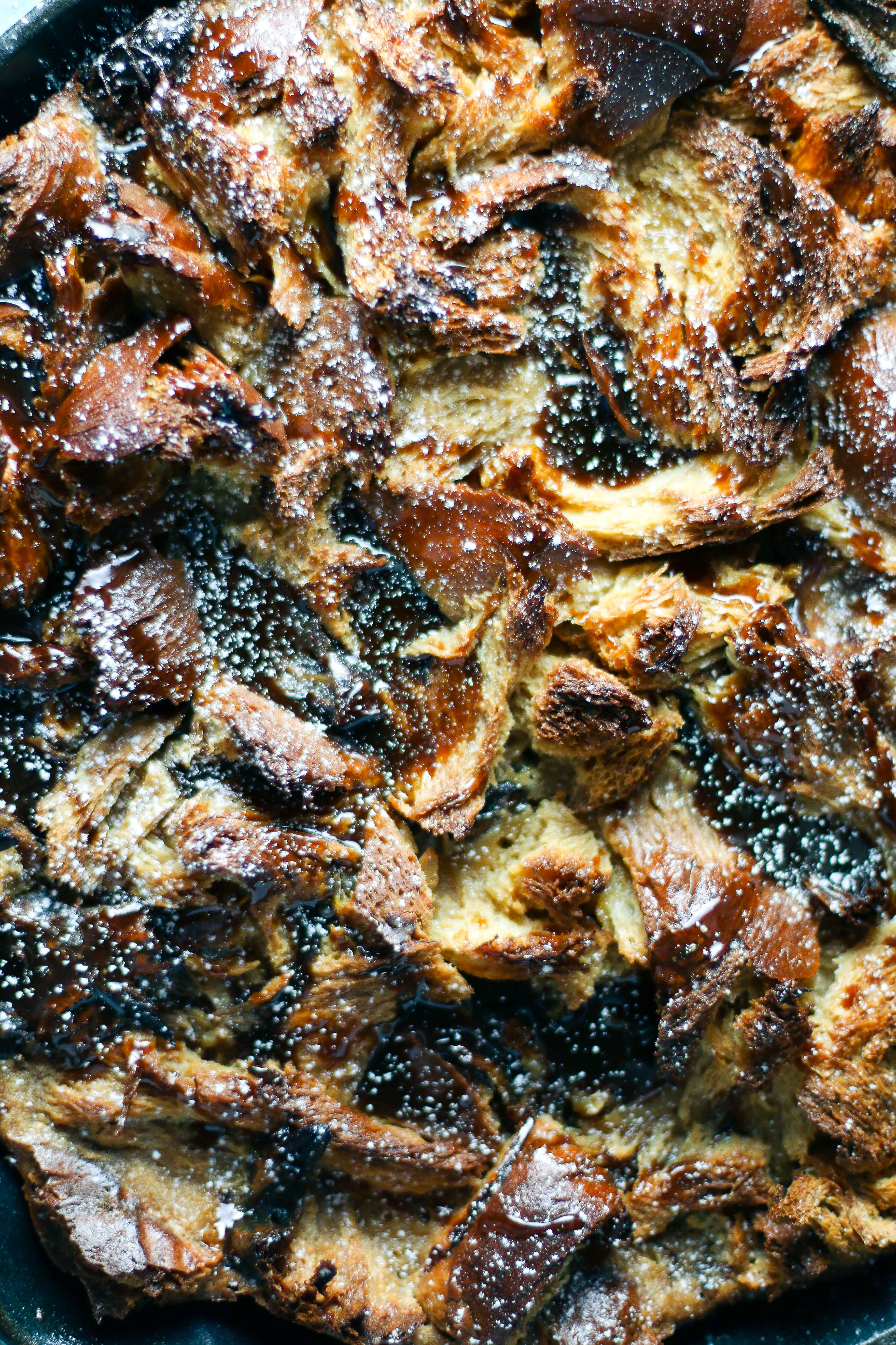 Whiskey Caramel Bread Pudding with Medjool Dates   I Will Not Eat Oysters