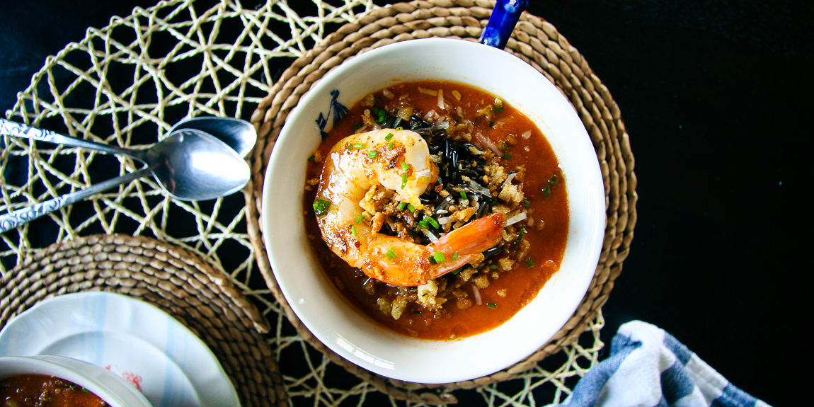 Roasted Tomato & Wild Rice Soup