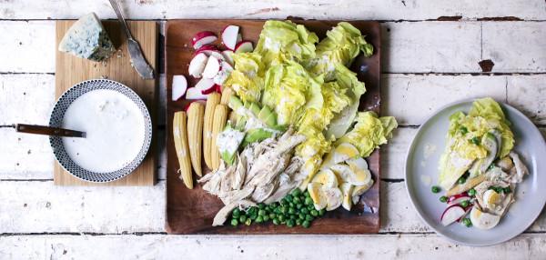 Bibb Lettuce Salad with Gochugaru Buttermilk Blue Cheese Dressing | I Will Not Eat Oysters