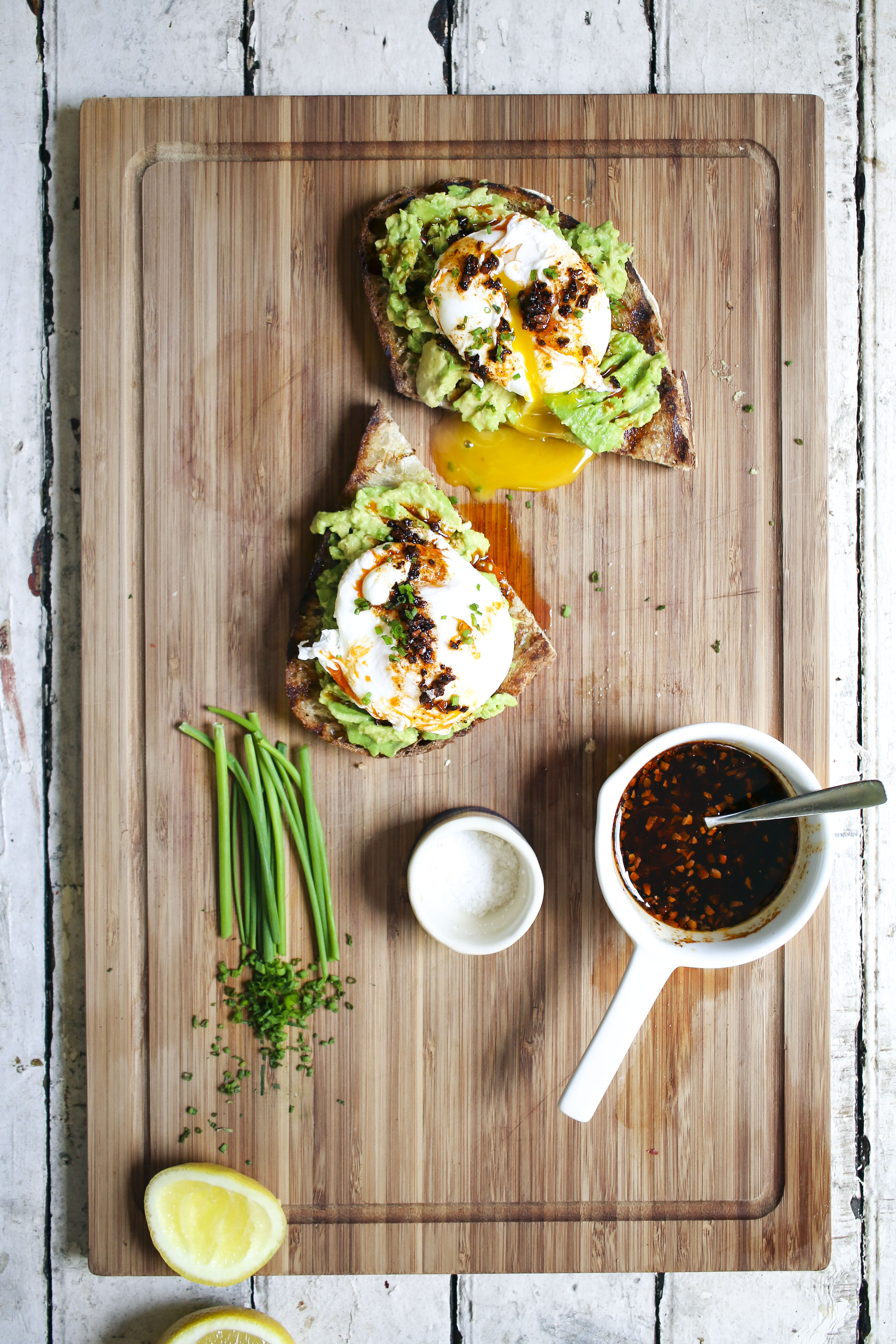 Avocado & Egg Toast with Aleppo Pepper Oil | I Will Not Eat Oysters