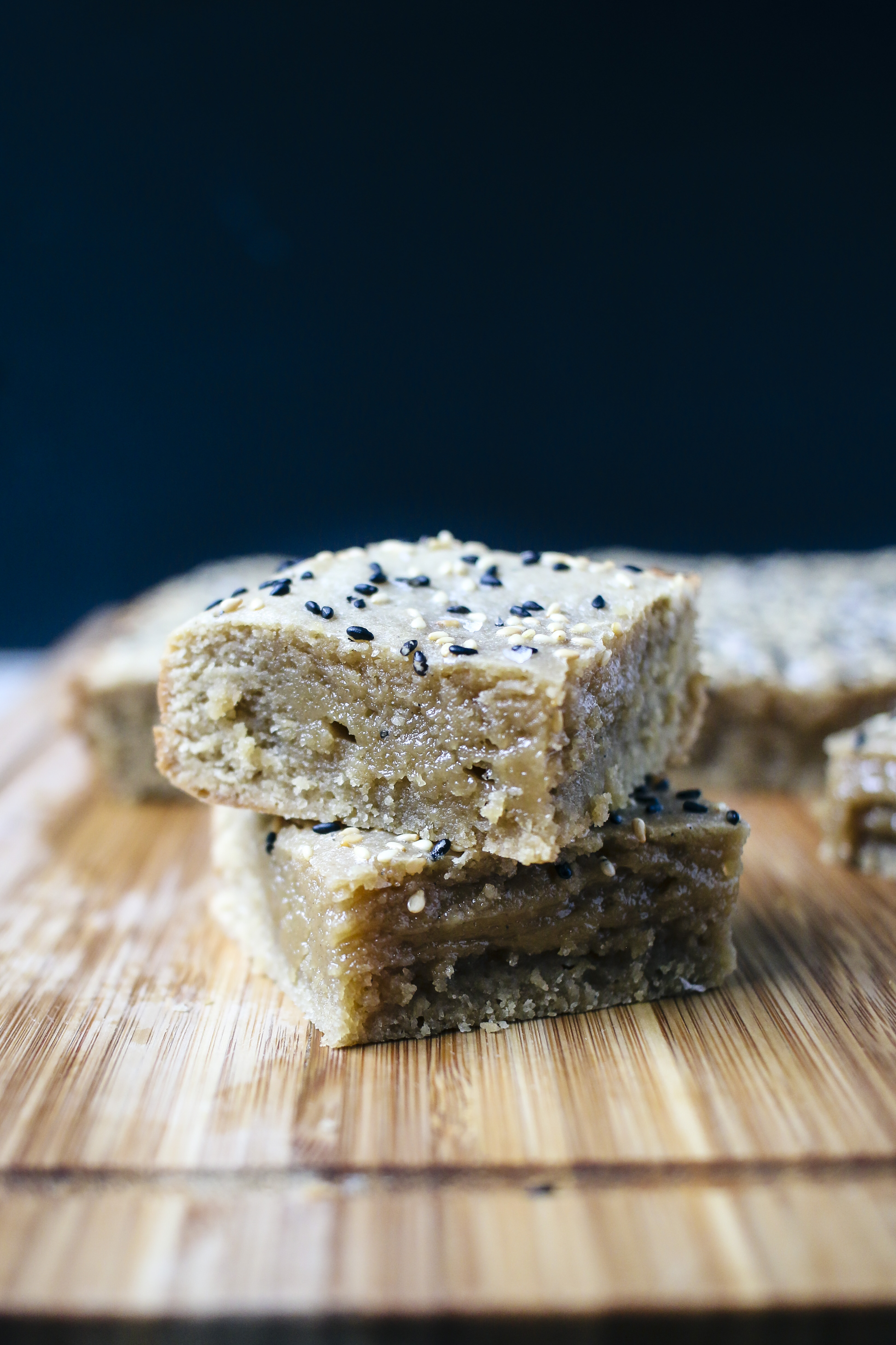 Tahini Blondies| Super smooth, dense and creamy | I Will Not Eat Oysters