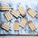 Whiskey Ice Coffee Popsicle with Cocoa Nibs | I Will Not Eat Oysters