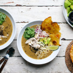 Green Tortilla Soup with Urfa and all the fixings   I Will Not Eat Oysters