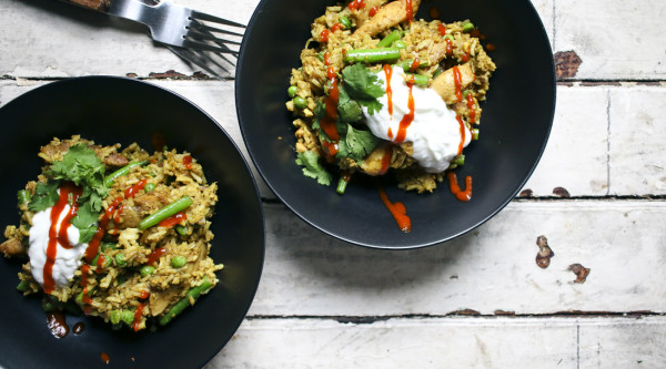 Feature - ChickenCurryFriedRice-1