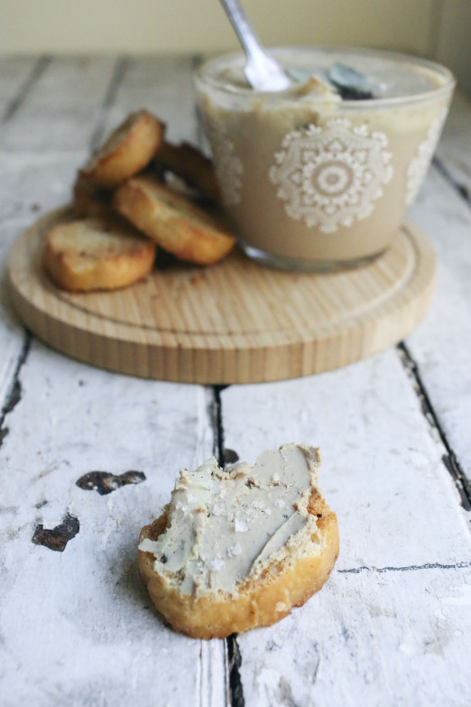 Bourbon Sage Paté with clarified coffee butter | I Will Not Eat Oysters