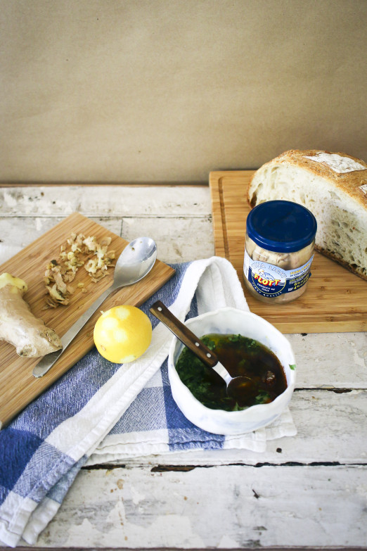 Tuna Toast with Chermoula   delicious way to elevate canned tuna   I Will Not Eat Oysters