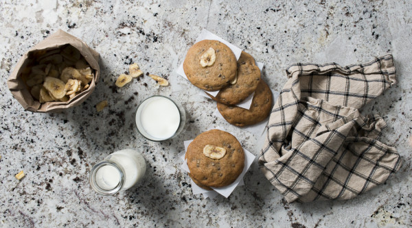 Banana Chocolate Chip Cookies from my beloved Moo Milk Bar |I Will Not Eat Oysters