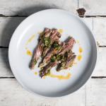 Harissa Chimichurri on Skirt Steak