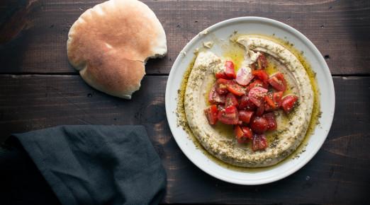 Za'atar Tomato Hummus | I Will Not Eat Oysters