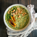 Dirty Matcha Latte Overnight Oats | Recipe from I Will Not Eat Oysters