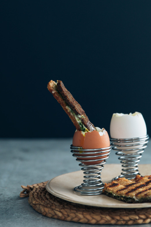 Dippy Eggs & Spicy Feta Provolone Soldiers Recipe | I Will Not Eat Oysters