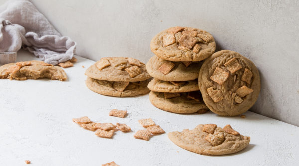 Cinnamon Toast Crunch Cookies Recipe from Danielle Oron of I Will Not Eat Oysters