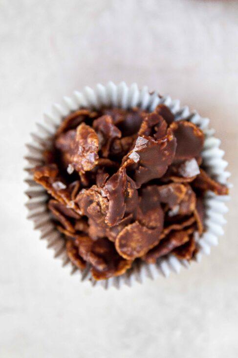 Chocolate Covered Cornflakes