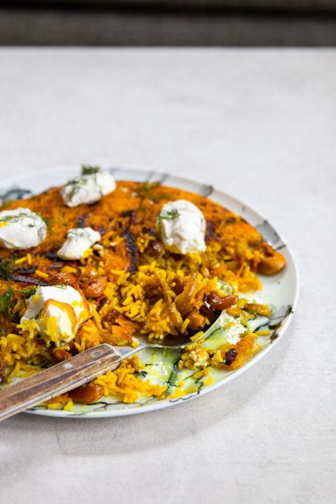 Crispy Cashew Rice