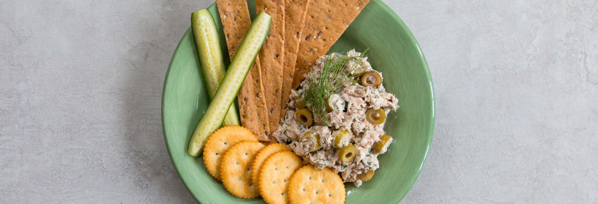 Easy and Quick Olive Tuna Salad