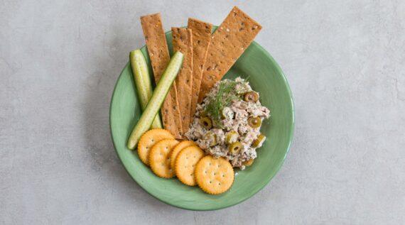 Quick and Easy Olive Tuna Salad