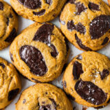 The Best CHEWY Pumpkin Chocolate Chip Cookie