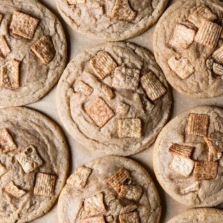 It's that time of year again. I am deep into cookie season and put these on my list of cookies to make this week! Cinnamon Toast Crunch Cookies!!!! Click the link in my profile to get the recipe from my blog! (Not sponsored at all. I just really love CTC) . . . . . . . #recipes #recipeoftheday #food52 #feedfeed #feedme #nytimesfood #foodblogfeed #buzzfeast #buzzfeedfood #f52grams #huffposttaste #vsco #food #lr_taste #foodgawker #foodporn #thekitchn #bonappetit #tableconversations #foodblog #eat #heresmyfood #foodstagram #iwillnoteatoysters