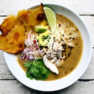 Tortilla soup is definitely top 3 soups in my book along side Pozole and my mom's chicken soup. Name your top 3!! Here is me Green Tortilla Soup w/ Urfa recipe! Link in profile! I really love a good soup that you add lots of toppings to and this one does not disappoint. After making a roasted tomatillo and pepper chicken soup of sorts, you add fried tortillas and blend it all together. Then it's topped with chicken, avocado, radish, cilantro, cheese, lime, and more fried tortillas. It's the ultimate comfort food and I am HERE FOR IT.  . . . #soup #soupseason #tortillasoup #tortilla #chickensoup #souprecipe #recipes #recipeoftheday #food52 #feedfeed #feedme #nytimesfood #foodblogfeed #buzzfeast #buzzfeedfood #f52grams #huffposttaste #food #foodgawker #foodporn #thekitchn #bonappetit #foodblog #eat #heresmyfood #iwillnoteatoysters